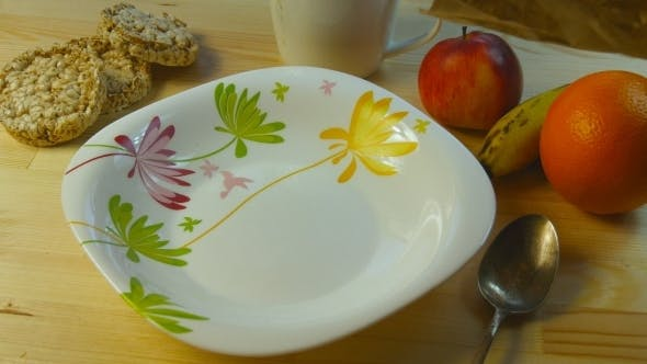 Thumbnail for Cornflakes Pouring Into Dish