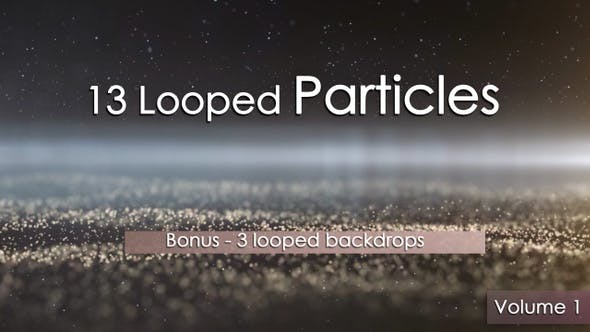 13 Looped Particles