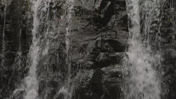 Scenery with Waterfall