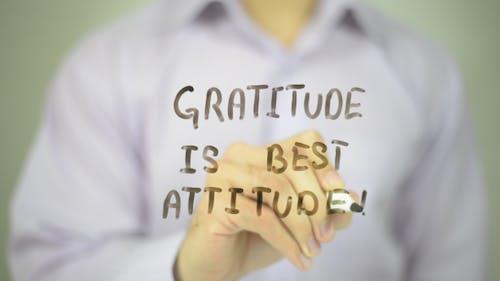 Gratitude Is Best Attitude