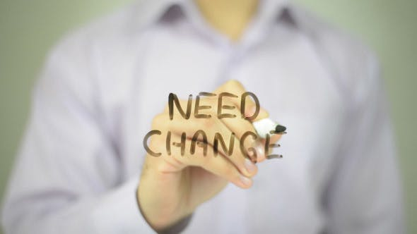 Cover Image for Need change