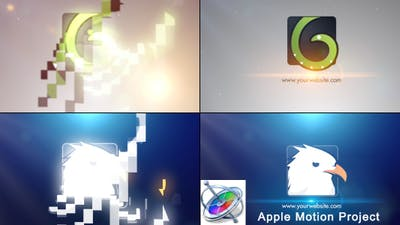 Simple Logo - Apple Motion