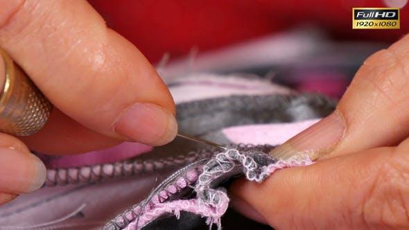 Thumbnail for Seamstress Sewing