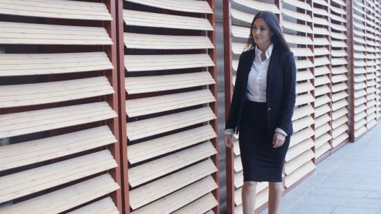 Thumbnail for Stylish Businesswoman In a Hurry