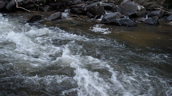 Thumbnail for Flowing Waterfall