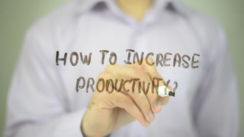How to increase Productivity ?