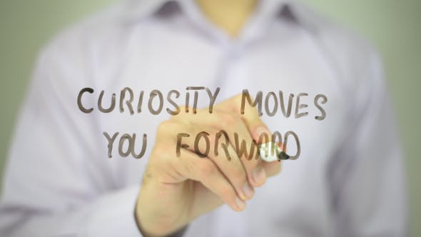 Cover Image for Curiosity Moves You Forward