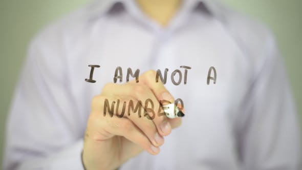 Thumbnail for I Am Not A Number