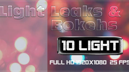 Thumbnail for Light Leaks and Bokehs