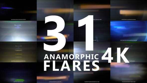 Thumbnail for Anamorphic Lens Flares