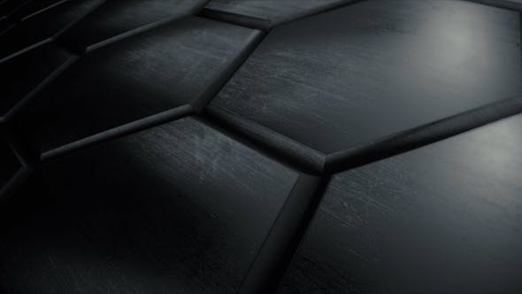 Thumbnail for Dark Reflective Hexagon Wall