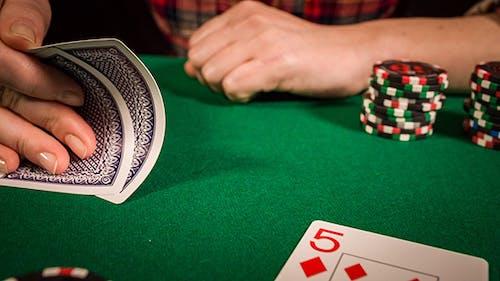 Player Placing A Bet
