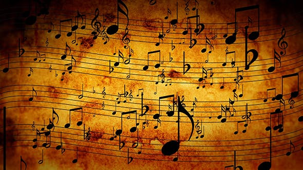 Cover Image for Animated Background With Musical Notes