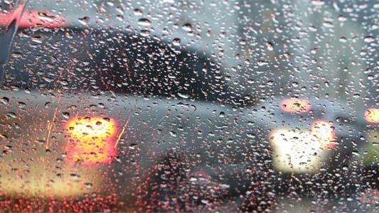 Thumbnail for City Traffic In Rain