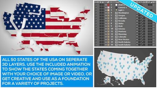 USA Map Kit