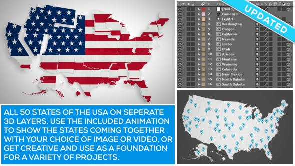 Thumbnail for USA Map Kit
