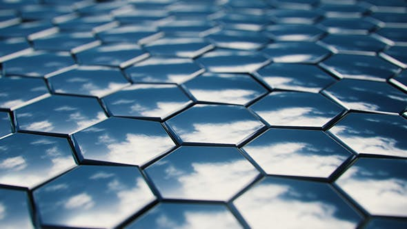 Thumbnail for Sky Reflection in Oscillating Hexagons