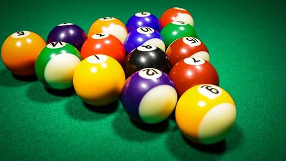 Thumbnail for Billiard Balls On Green Baize