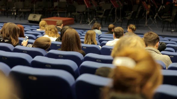 Audience in the Concert Hall