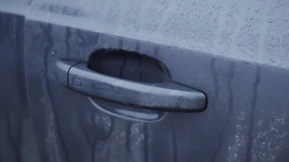 Thumbnail for Man's Hand Open Car