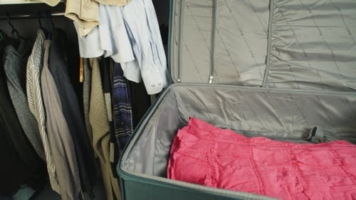 Suitcase With Clothes