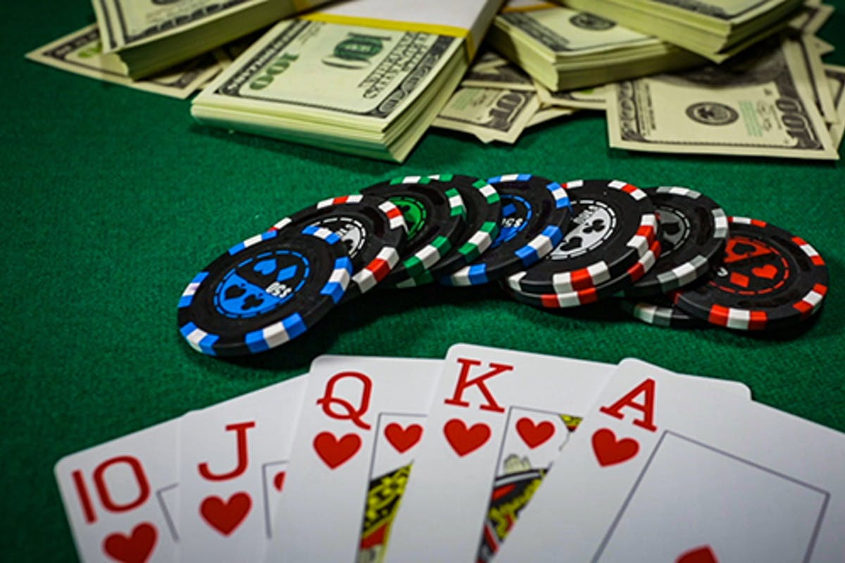 Poker Player Placing A Bet by cookelma on Envato Elements