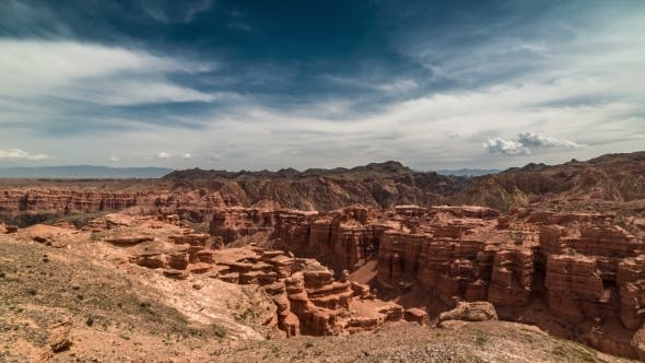 Thumbnail for Charyn Grand Canyon And Mountains In Kazakhstan