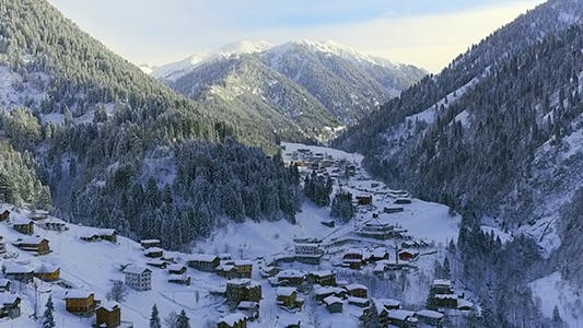 Cover Image for Village Covered With Snow