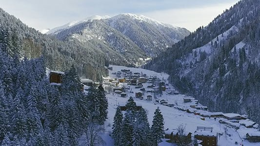 Cover Image for Winter View of the Village