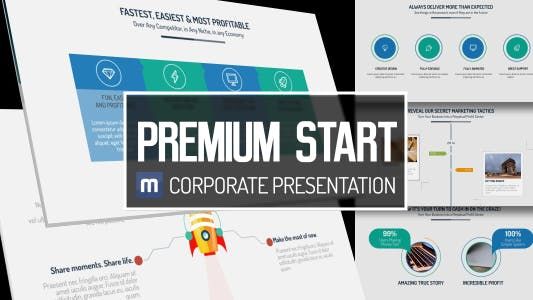 Thumbnail for Premium Start - Corporate Presentation