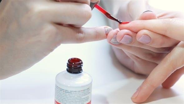Thumbnail for Nail Technician At Nail Salon