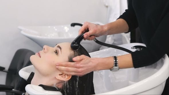 Thumbnail for Hair Washing At a Hairdressing Salon
