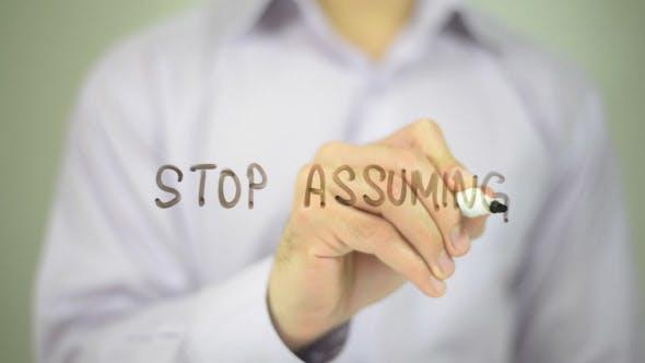 Thumbnail for Stop Assuming