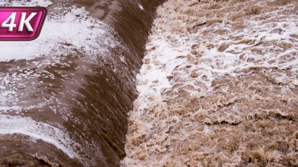 Devastating Flood Flows