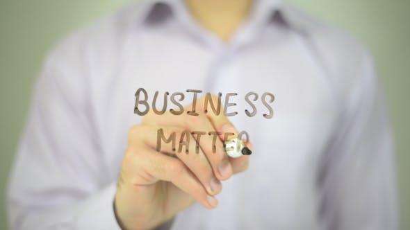 Business Matter