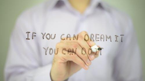 Wenn Sie es träumen können Sie es tun