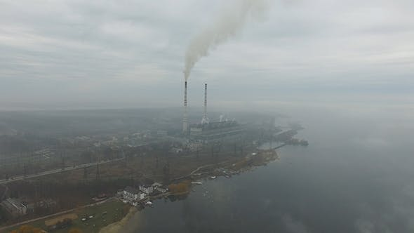 Thumbnail for Aerial View Of Power Station