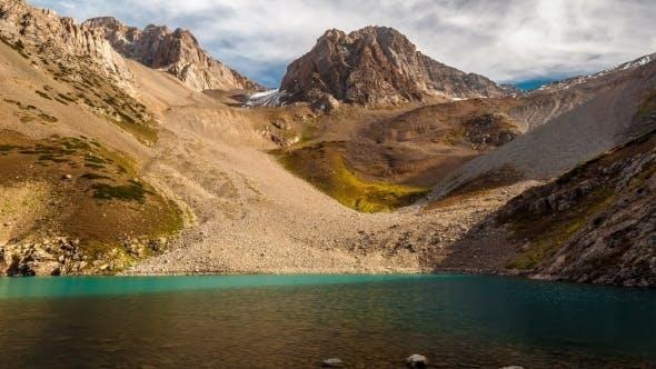 Thumbnail for Mountain Lake In The Gorge Sayramsu, Kazakhstan