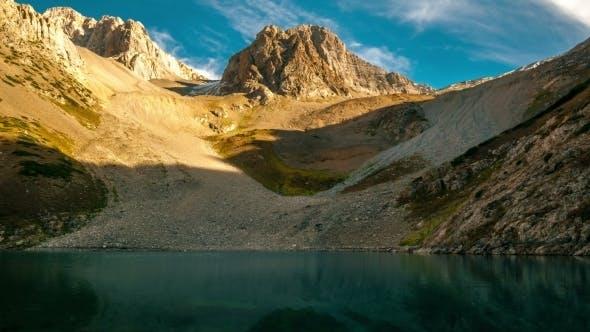 Thumbnail for Splashes Of Water In a Mountain Lake The Gorge Sayramsu, Kazakhstan