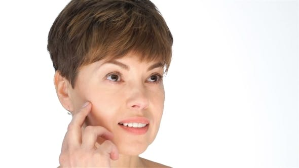 Thumbnail for Middle-aged Females On a White Background