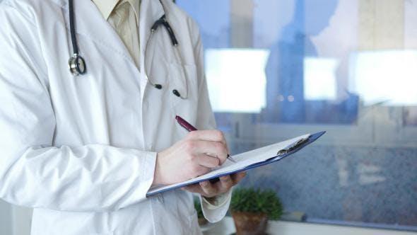 Thumbnail for Doctor Prescribing Medication