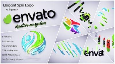 Elegant Spin Logo