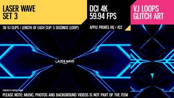 Thumbnail for Laser-Welle (4K Set 3)