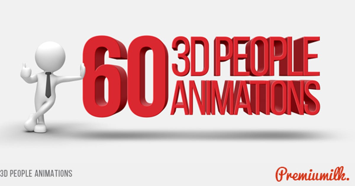 Download 3D People Animations by Premiumilk