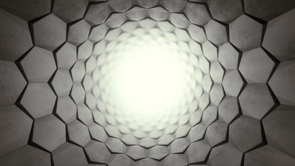 Thumbnail for Hexagon Light Tunnel