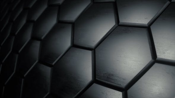 Thumbnail for Futuristic Dark Hexagon Surface