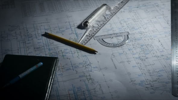 Drawing Tools On a Blueprint