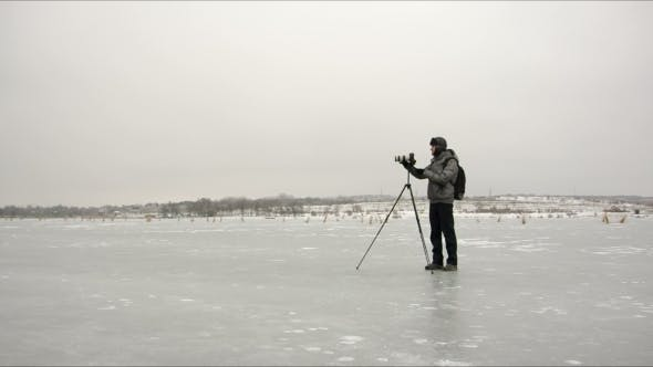 Thumbnail for Photographer On The Ice