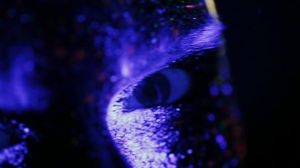 Thumbnail for Pupil Of The Eye Under Ultraviolet Light