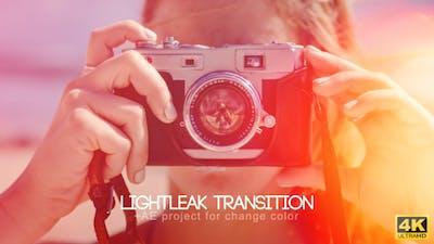 Light Leak Transitions